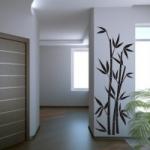 Naklejka Bambus na ścianę M1