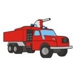 Naklejka Straż pożarna K18