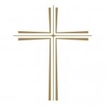 Naklejka na ścianę Krzyż M13