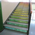 Naklejki schodowe na podstopnice daty historyczne Polski nr K8