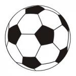 Szablon malarski Piłka nożna S5