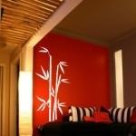 Naklejka na ścianę Bambus M3