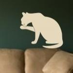Naklejka na ścianę Kot M11