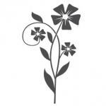 Naklejka na ścianę Kwiat M32