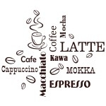 Szablony malarskie Latte, cafe S2