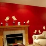 Naklejki welurowe na ścianę Ptaszki W12