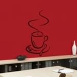 Szablon ścienny Filiżanka do kawy S3