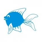 Naklejka na ścianę Wesoła rybka M18