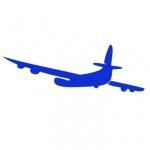 Naklejka ścienna Samolot M10