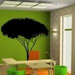 Szablon na ścianę Drzewo z sawanny S20