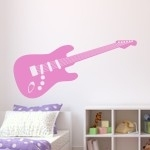 Szablon do pomalowania Elektryczna gitara S7