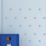 Naklejki welurowe Gwiazdki do pokoju dziecka W8