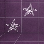Naklejka na kafelki Rozgwiazda K8
