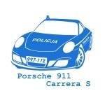 Szablon do pomalowania Samochód Policyjny S5