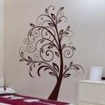 Naklejka dekoracyjna Florystyczne drzewo M6