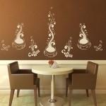 Naklejki na ścianę do kuchni Kolekcja kawowa M8