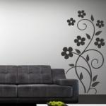 Naklejka dekoracyjna Motyw kwiatowy M26