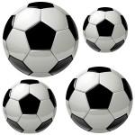 Naklejki ścienne Piłki nożne K1