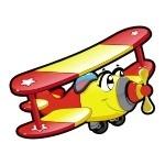 Naklejka Samolocik K5