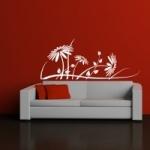 Naklejka na ścianę Kwiaty M36