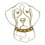 Naklejka na ścianę Pies M33
