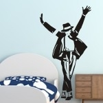 Naklejka na ścianę Michael Jackson M19