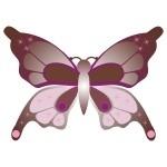Naklejka dekoracyjna Motylek K8