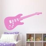 Naklejka na ścianę Gitara elektryczna M4