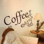 Naklejka welurowa dekoracyjna Coffee W8