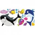 Podwodny świat Zestaw naklejek K3