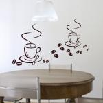 Szablony do malowania Filiżanki kawy S6