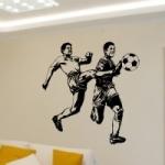 Naklejki welurowe na ścianę Piłkarze W16