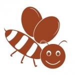 Naklejka na ścianę Pszczółka M10