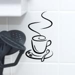 Naklejka na kafle Filiżanka K1