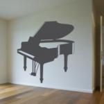 Szablon do dekoracji Fortepian S6