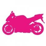 Szablon ścienny Motocykl S15