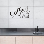 Naklejki na kafelki Coffe i kawa K2