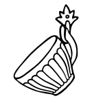 Naklejka na płytki kuchenne filiżanka K19