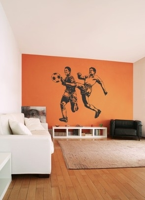 Naklejki na ścianę do pokoju chłopca piłkarze