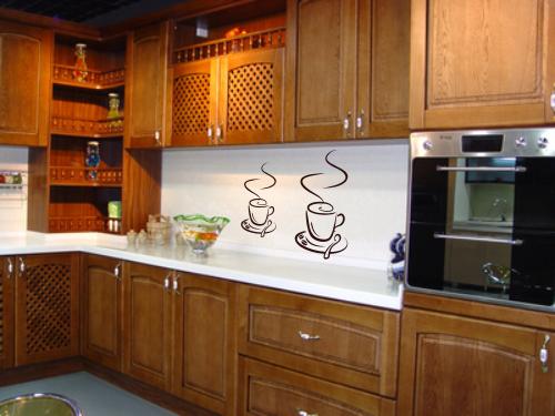 Naklejki na ścianę do kuchni kawa