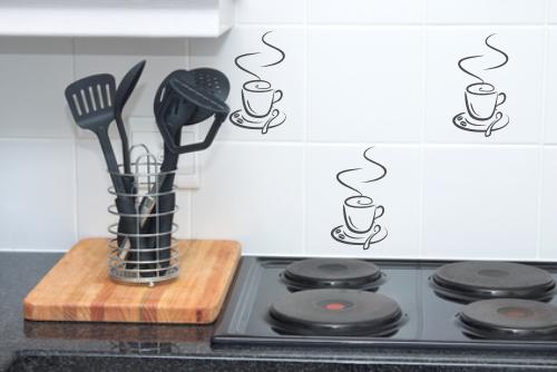 Naklejka na płytkę ceramiczną kawa